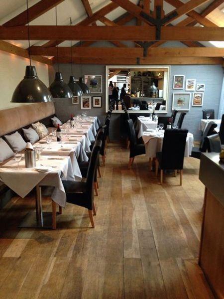 Ferguson's restaurant Rugby interior