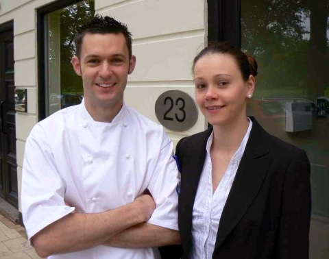 Peter and Antje Knibb Restaurant 23