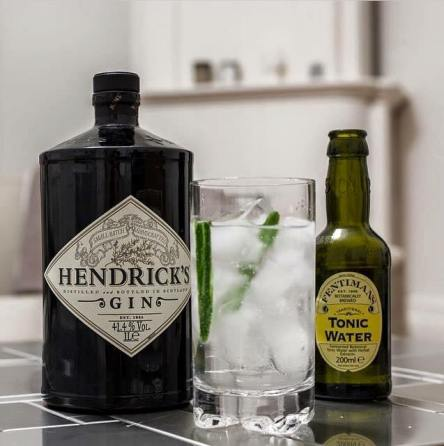 Hendrick's Gin and Fentiman Tonic