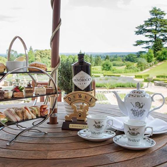 Hallmark Hotel summer-garden-gin-tea-stratford-upon-avon