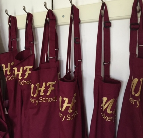 MHF Cookery School aprons