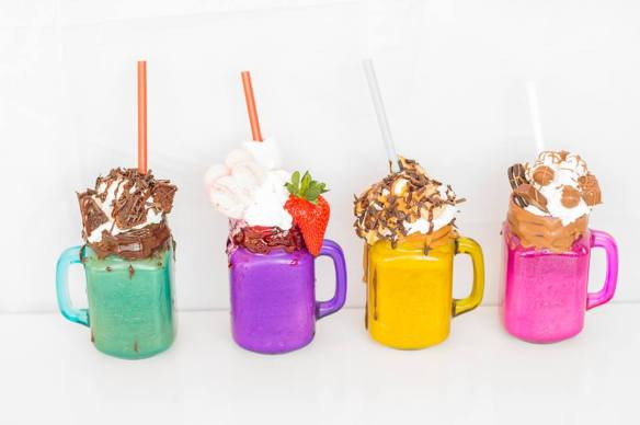 Sweet As range of freakshakes
