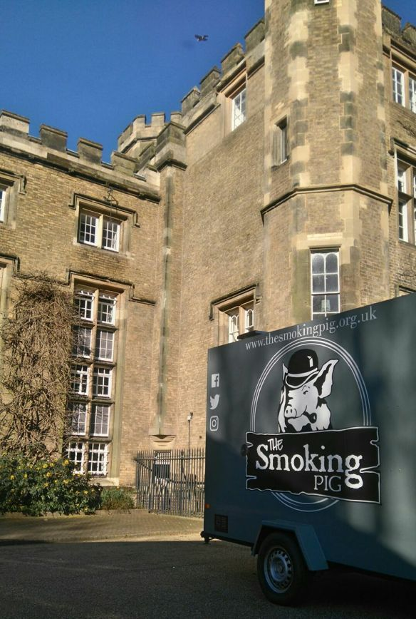 The Smoking Pig trailer Rugby