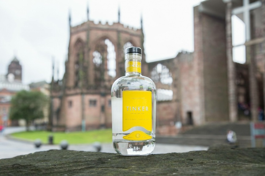 Tinker gin at Gin Festival Coventry Cathedral