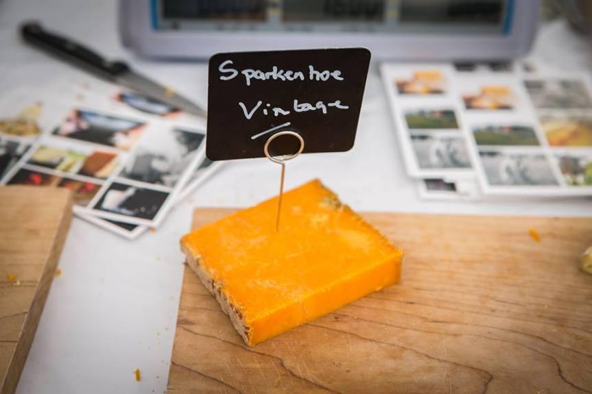 Sparkenhoe cheese