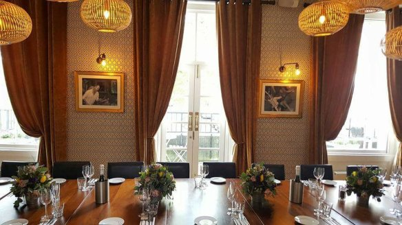 The Star & Garter private dining room