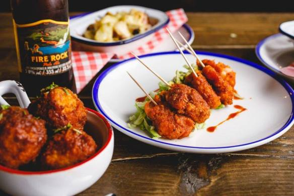 Buffalo & Rye Birmingham spicy prawn pops