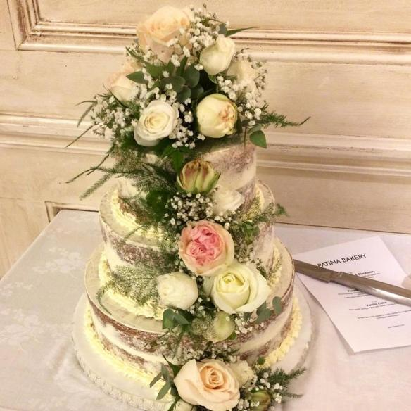Patina Bakery wedding cake