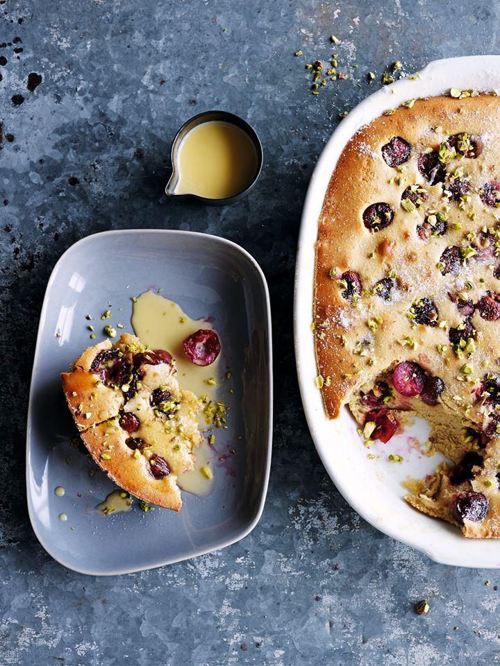 Purnells restaurant cherry clafoutis