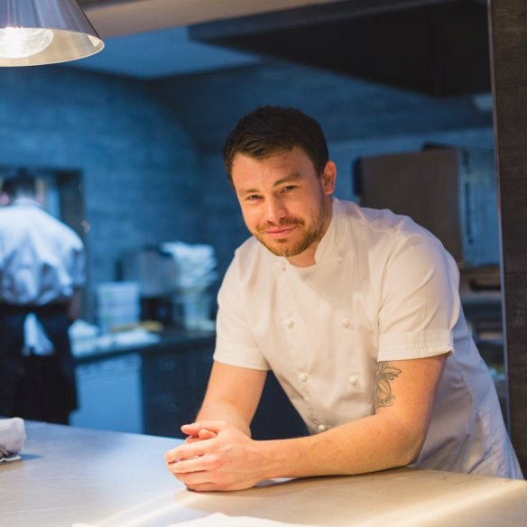 Liam Dillon Chef Patron The Boat Inn Lichfield