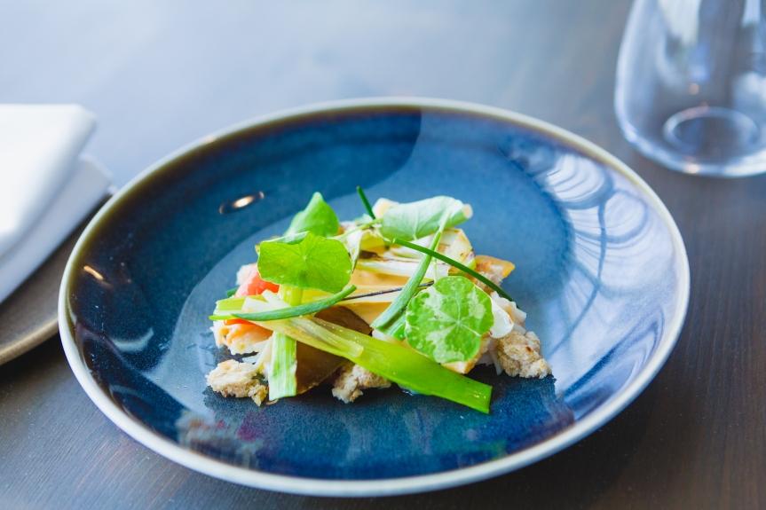 The Boat Inn crab dish