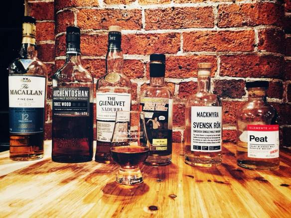 The Whisky Lounge tasting