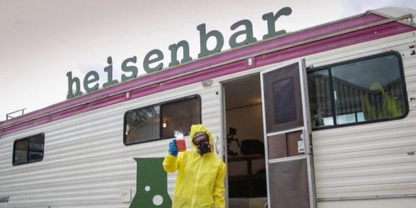 Heisenbar breaking bad cocktail experience