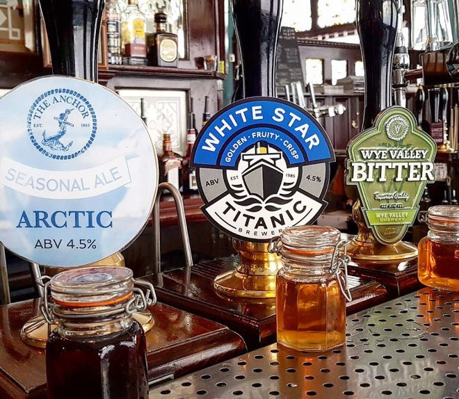 Titanic Brewery beers