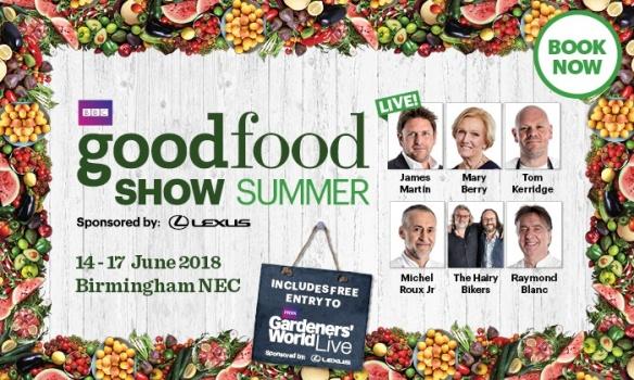 BBC Good Food Show Summer 2018