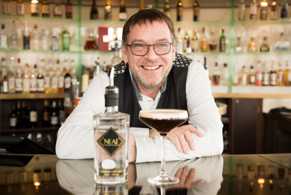 Neat Gin by Adam Woodyatt at Resorts World
