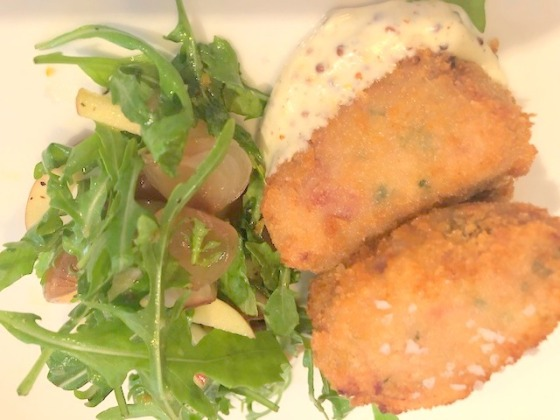 Ham hock croquets The Star & Garter