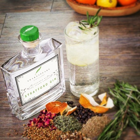 Stratford Gin by Sjhakespeare Distillery