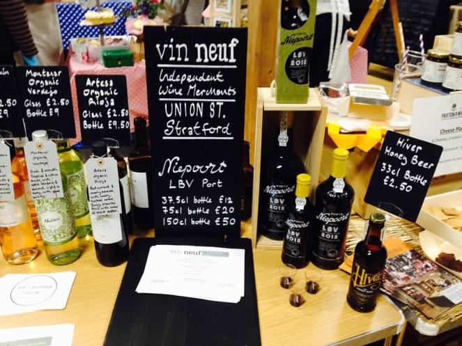 Vin Neuf wine merchant Stratford upon Avon
