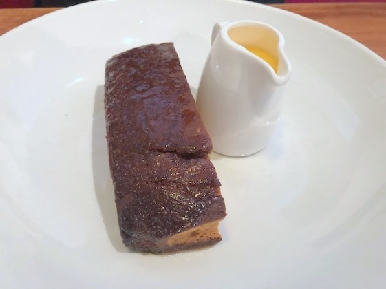Warm ginger sponge dessert The Star & Garter