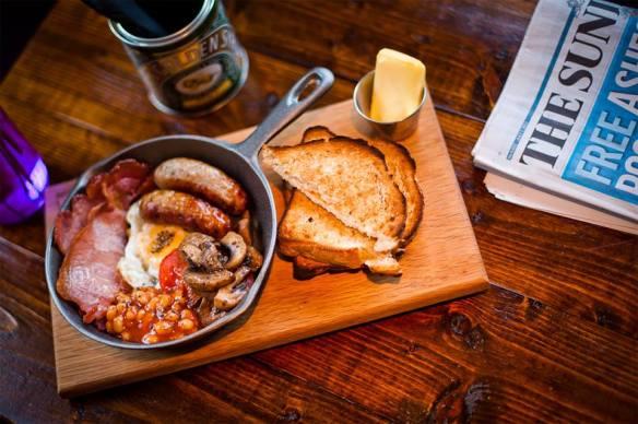 Breakfast at the Royal Pug Leamington