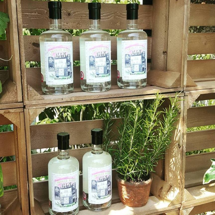 The Little Gin Company elderflower gin