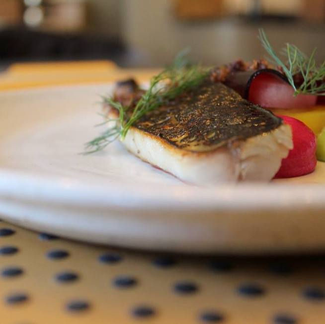 Mackerel dish The Larder Lichfield