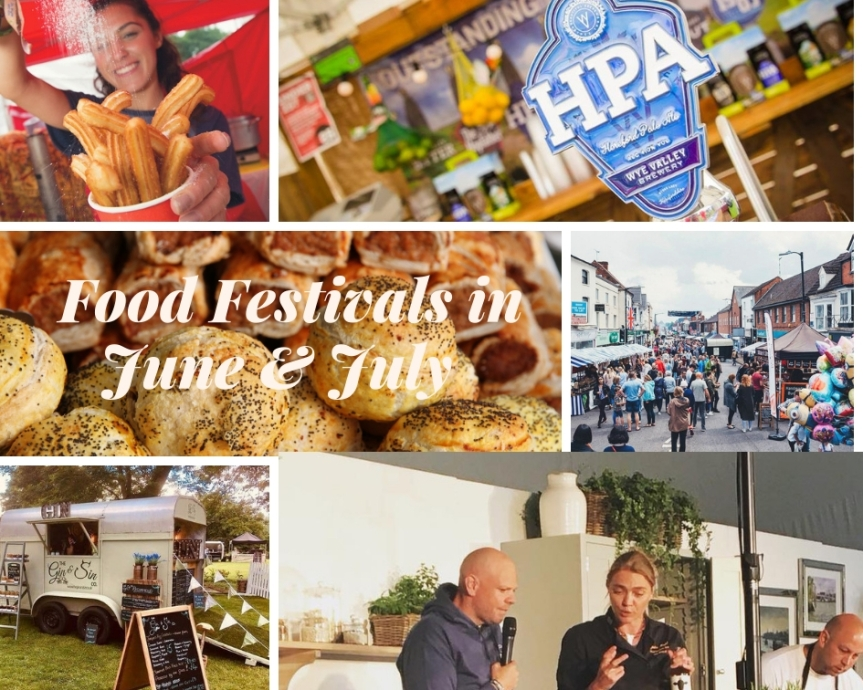 Food festivals in June & July 2019