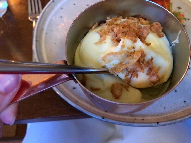 The Butchers Social clotted cream mash