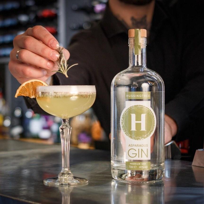 Hussingtree asparagus gin
