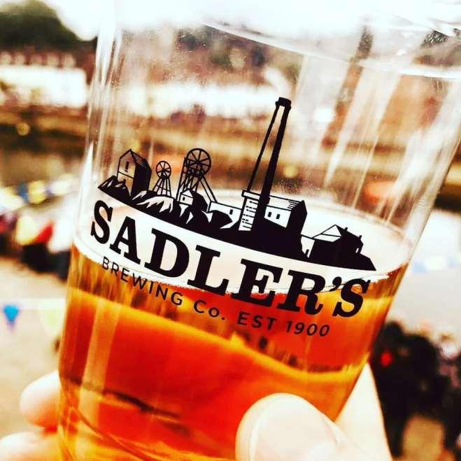 Sadlers Brewery pint