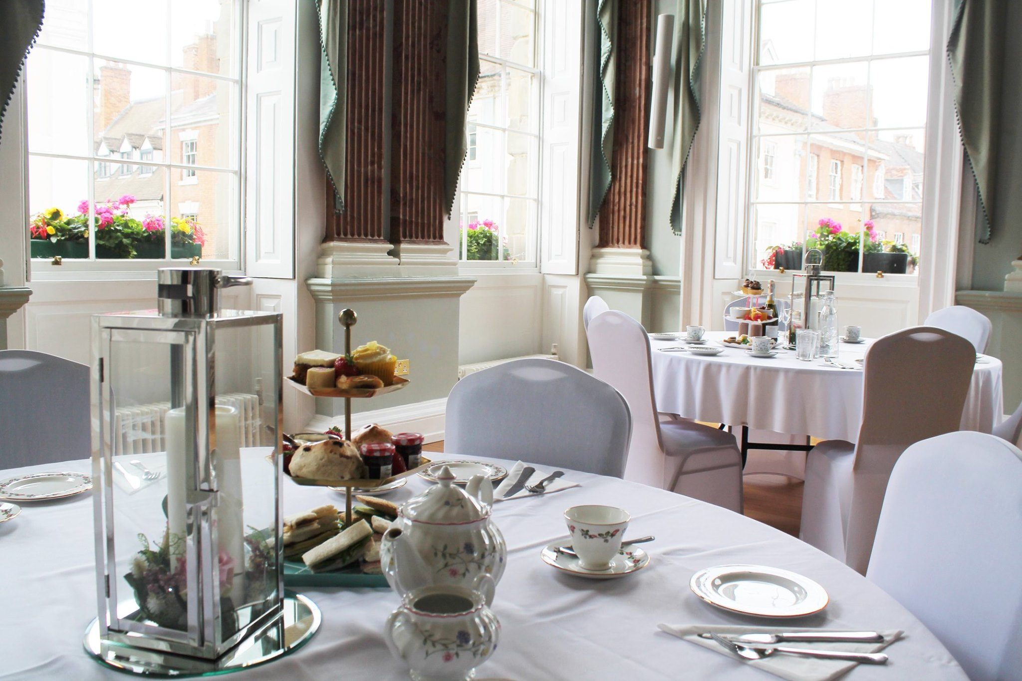 The Court House Warwick afternoon tea