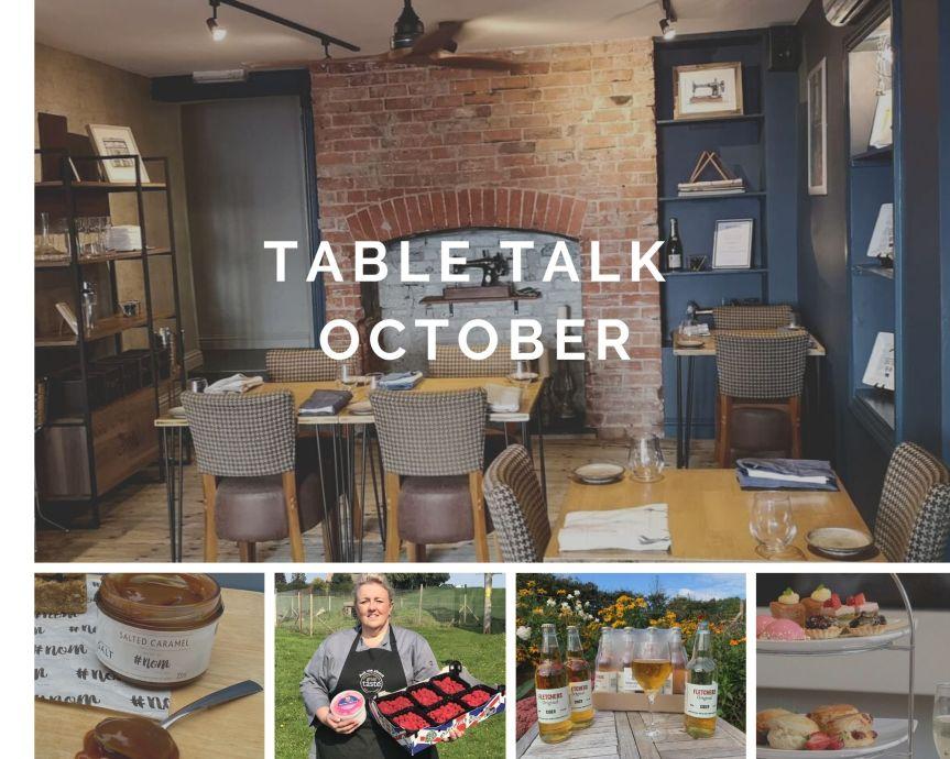 Table Talk –October